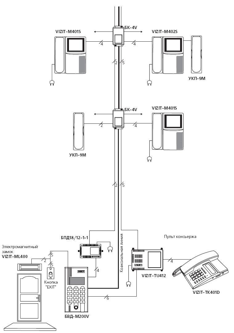 схема домофона commax dpv 4hp